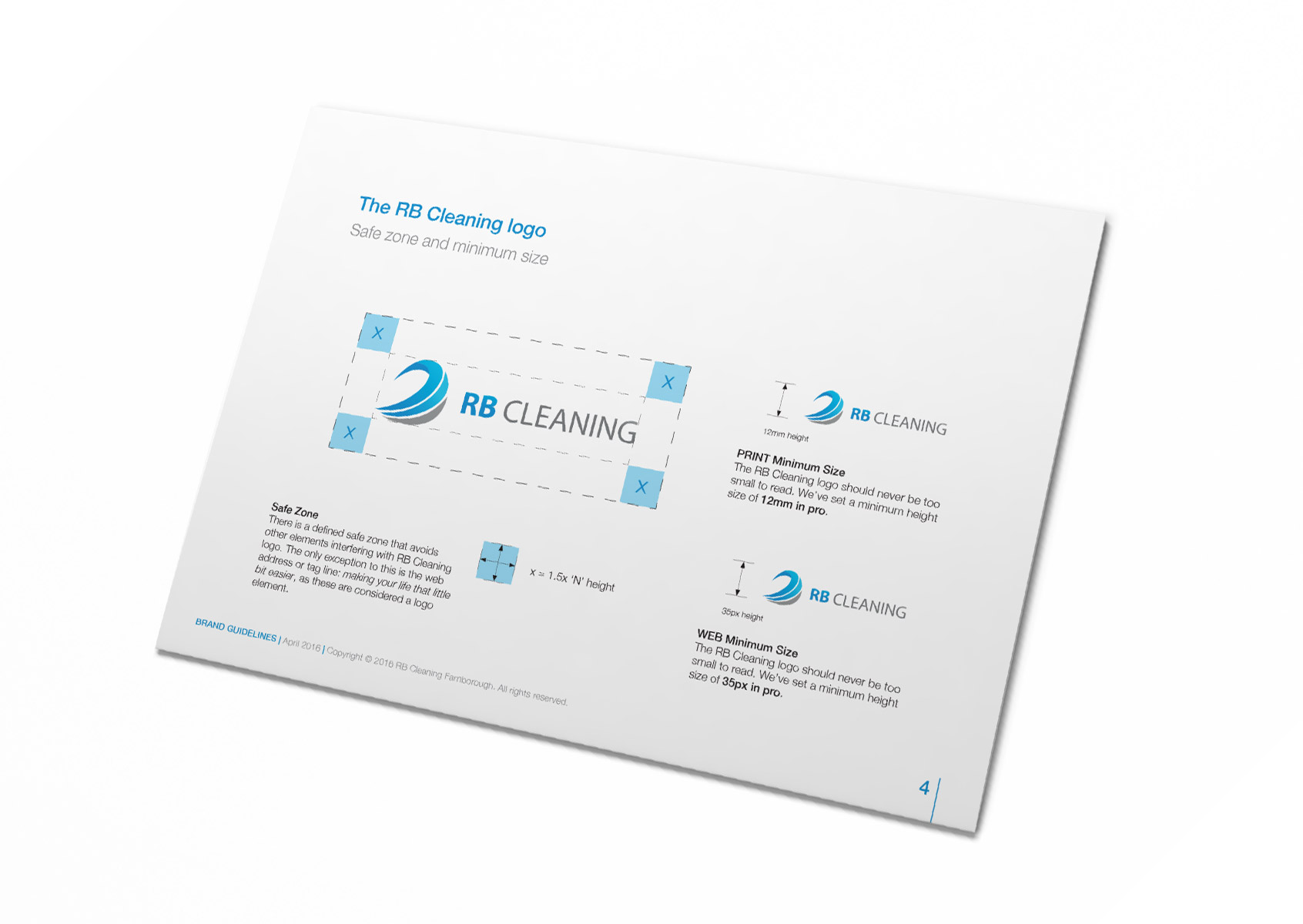 RB Cleaning Farnborough Brand Guidelines